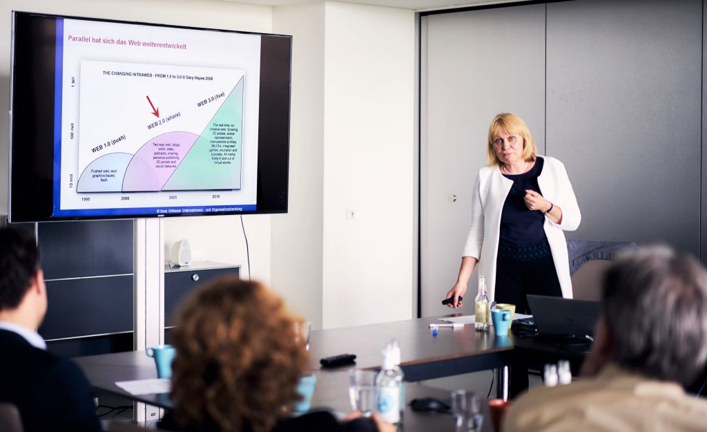 Ilona Orthwein, Referentin