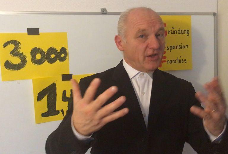 Jürgen Nastvogel, Franchisegeber, Referent
